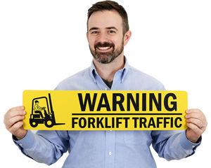 Forklift Floor Warning Signs
