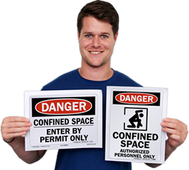 Free Confined Space Signs