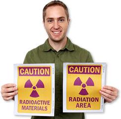 Free Radiation Signs