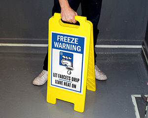 Freeze Warning Signs