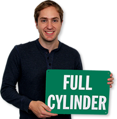 Full Cylinder Signs