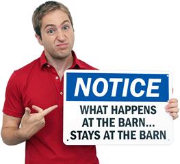 Funny Farm Signs