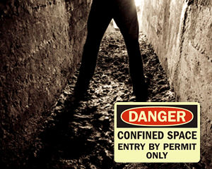 Glowsmart Confined Space Signs