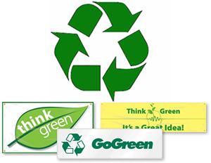 GoGreen™ Banners