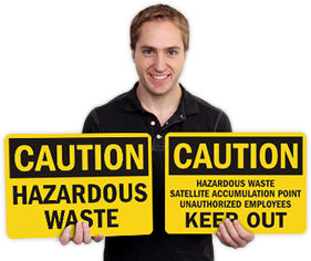 Hazardous Waste Signs | HazWaste Signs