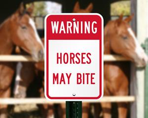 Horses May Bite