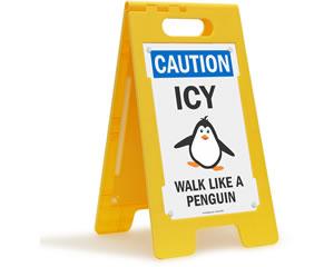 Walk Like a Penguin Sign