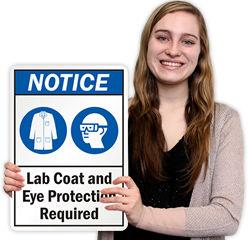 Lab Coat Signs