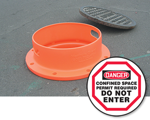 Manhole Cover Signs, Guards & Accessories