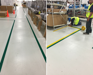 Floor Marking Tape and Signs