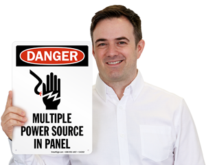 Multiple Power Source in Panel Sign