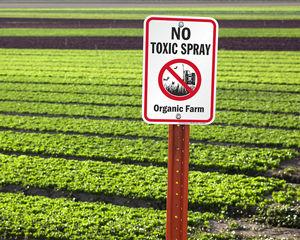 No Spraying Signs