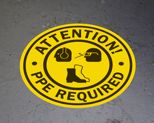 Quotation for Floor Sign