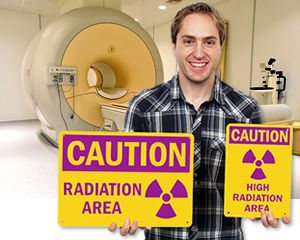 Radiation Area Signs