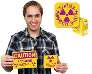 Radiation Labels & Stickers