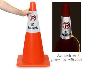 Reflective Cone Message Collars