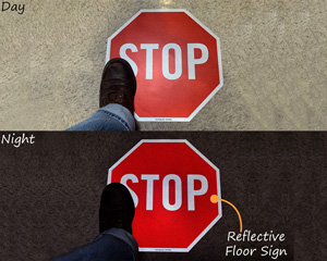Reflective Safety STOP Signs
