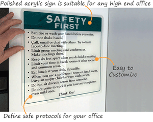 Safe office rules for returning to the office after Covid