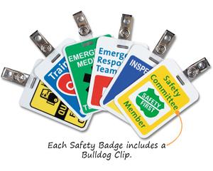 Safety Badges