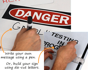 Blank Safety Signs