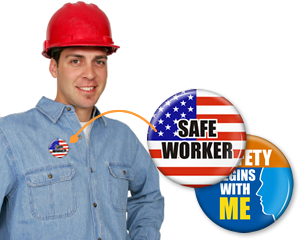 Safe Worker Button