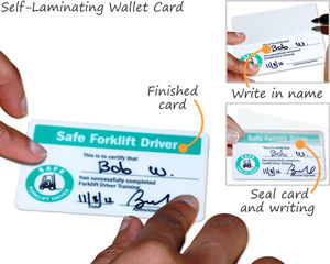 Safety Wallet Card