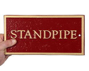 FDC Standpipe Plate