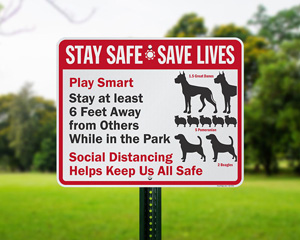 Stay Safe Save Lives Funny Social Distancing Signs