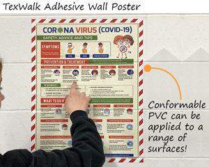 Texwalk Adhesive Wall Poster