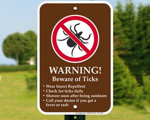Tick Warning Signs
