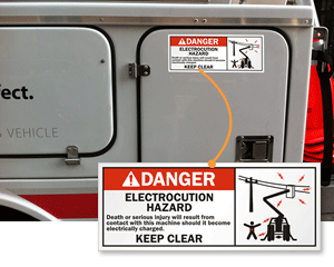 Truck Warning Signs