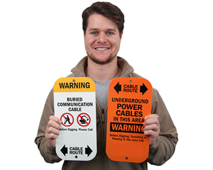 Utility Sign Markers