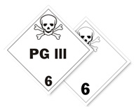Class 6 PG III Placards
