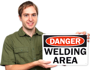 Welding Safety Signs
