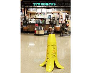 Wet Floor Banana Signs