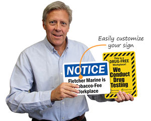 Customize Workplace Safety Signs