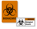 Biohazard Stickers & Labels