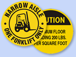 Custom Floor Signs