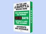 Electronic Shine-a-Day™ Safety Scoreboards