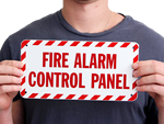 Fire Alarm Control Panel Signs