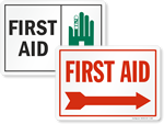 Looking for First Aid Signs?