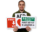 Free First Aid Signs