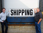 Giant Shipping Sign