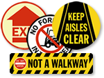 Floor Safety Signs - SlipSafe™