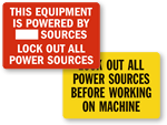 Lockout All Power Sources