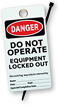 Lockout Signs & Labels
