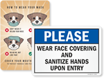 Looking for Face Mask Signs?
