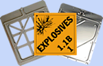 Explosives Placards