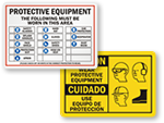Protective Equipment Signs