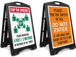 Looking for Outdoor Social Distancing Signs?